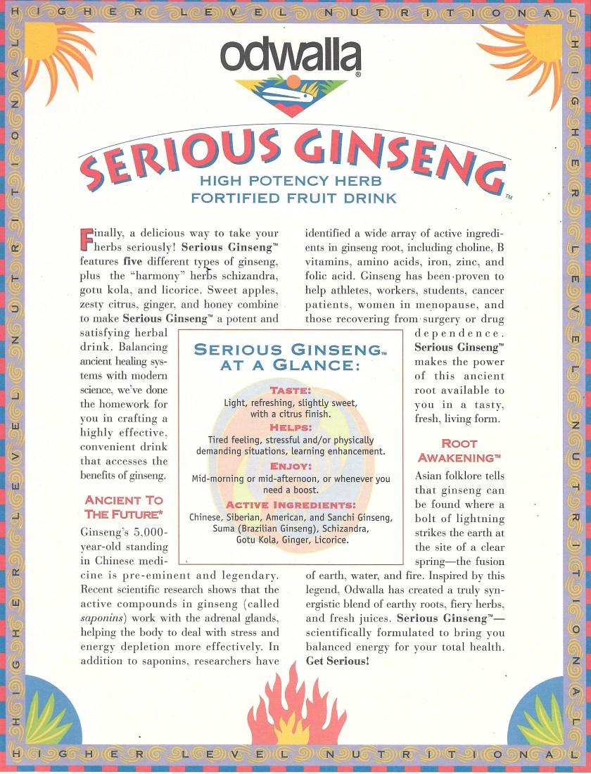 Serious Ginseng 001